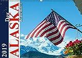 Der Alaska Kalender (Wandkalender 2019 DIN A2 quer): Ein Monatskalender mit 12 wunderschönen Fotos, aufgenommen in der Wildnis Alaskas. (Monatskalender, 14 Seiten ) (CALVENDO Natur) - Max Steinwald