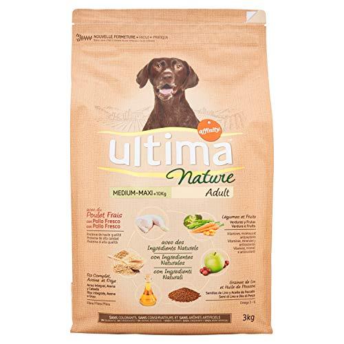 Ultima Nature Cibo per Cani Medium-Maxi con Pollo - 3 kg
