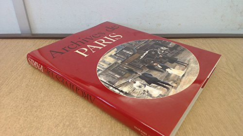 Archives de Paris par Jacques Borgé