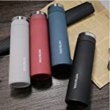 #2: Celebration Gift High Quality Hot & Cold Stainless Steel Vacuum thermos Insulated Tumbler With Tea Filter 500ml water bottle