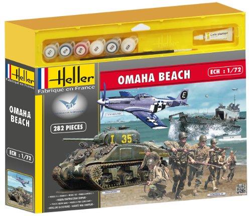 Heller 53003 - Modellbausatz Omaha Beach