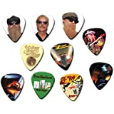 Zz Top (Tribute Edition) Edition) Set Of 10 Loose Gitarre Pick Plektrums Plektrons