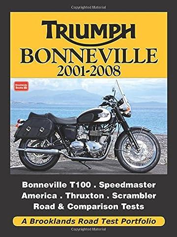 Triumph Bonneville 2001-2008 (Road Test Portfolio) (Test 2008)