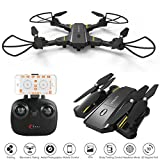 AMILE TY099 2 MP Grand Angle Pliable RC Quadcopter WiFi FPV Altitude Hold 2,4 G 6 Axes Drones Gyro Capteur de gravité Unisex Youth, 23 x 17 x 12 cm
