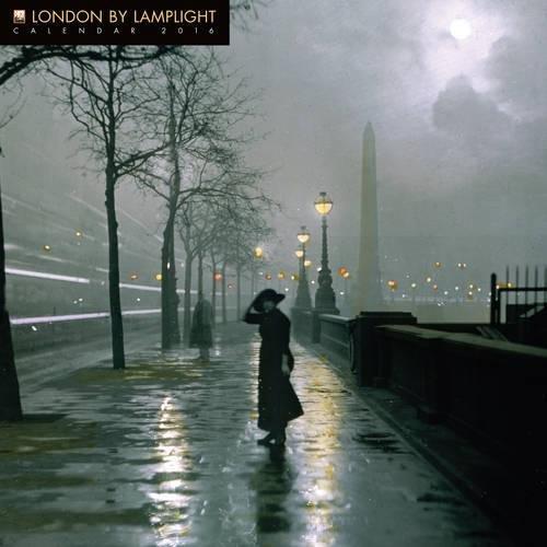 London by Lamplight wall calendar 2016 (Art calendar) par Flame Tree Publishing