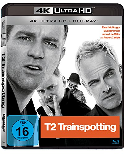 T2 Trainspotting - Ultra HD Blu-ray [4k + Blu-ray Disc]
