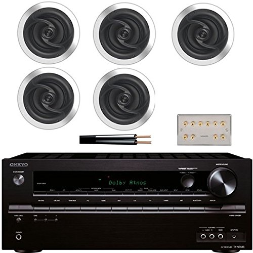 Electro Supplies Onkyo Home Cinema System with Aton Ceiling Speakers amp; Wall Plate