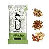 Insekten Riegel 'Bug-Break', 3 Energieriegel (3 x 35g) I essbare Insekten zum Essen