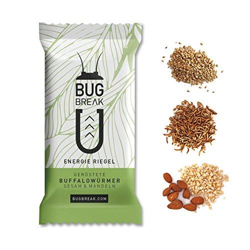Insekten Riegel 'Bug-Break', 3 Energieriegel (3 x 35g)