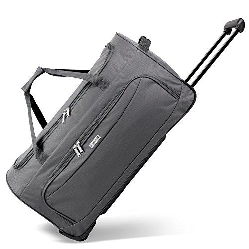 Geräumige noorsk Reisetasche Sporttasche in verschiedenen Farben - XL - Grau