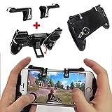 #7: Leoie Gaming Trigger Gaming Controller Mobile Phone Gaming Joystick Handle Holder Shooter for PUBG