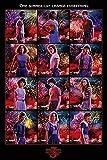 Stranger Things Poster Collage [Saison 3] (61cm x 91,5cm) + Un Poster Surprise en Cadeau!