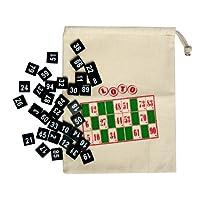Nummerierte-Zahlensteine-mit-Beutel-zum-Zuziehen-1-100-Bingo Nummerierte Zahlensteine mit Beutel zum Zuziehen, 1-100, Bingo -