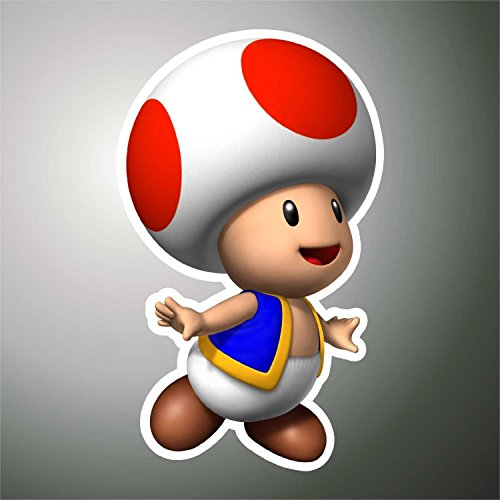 Aufkleber - Sticker Fungo Super Mario PSP XBOX Sticker