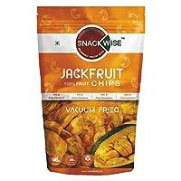 SnackWise Vacuum Fried Fruit Chips, Jackfruit, 30g