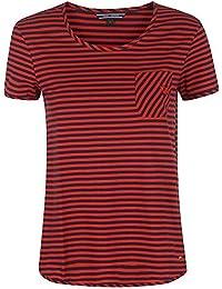 Tommy Hilfiger - T-shirt - Femme rouge Red