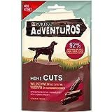 AdVENTuROS Hundeleckerlis Mini Cuts mit Wildschwein Beutel, 7er Pack (7 x 70 g)