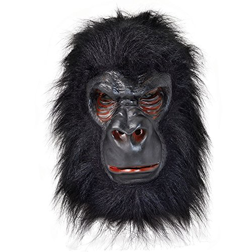 Rubie's BM371 - Latex-Maske Gorilla, (G Party Kostüm Ideen)