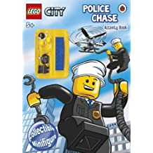 LEGO CITY: Police Chase Activity Book with LEGO Minifigure (Lego City Activ Bk/Minifigure)