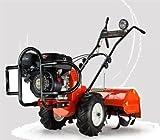 Motorhacke Traktor Vertikutierer Benzin Motorhacke Gartenfräse Benzin 4-Takt mit Rückwärtsgang 208cc 7,5HP