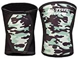 ULTRA FITNESS 5 mm Knee Support, Support & Compression for Weightlifting, Powerlifting, Camouflage, XL