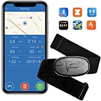 CooSpo Monitor de frecuencia Cardiaca Sensor de Frecuencia Cardíaca Banda frecuencia cardíaca Bluetooth 4.0 Ant+ Heart Rate Monitor