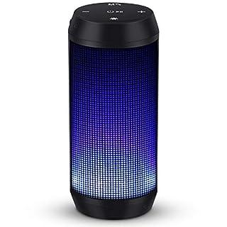 Bluetooth Lautsprecher Musikbox Tragbarer LED Bluetooth Box mit Freisprechfunktion für Handy und PC FM Radio Mikro-SD und USB Kabellos von ELEHOT - Verpackung MEHRWEG