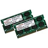 CSX RAM 2x2 GB PC3-8500 (1066 Mhz) DDR3 SO-DIMM pour MacBook (Pro)/ iMac/ Mac Mini