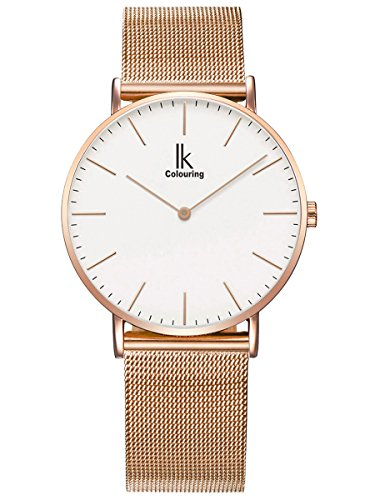 alienwork-ik-montre-quartz-elegant-quartz-mode-design-intemporel-classique-metal-blanc-or-rose-u0491