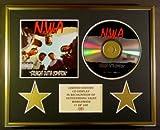 N.W.A./CD-Darstellung/Limitierte Edition/COA/STRAIGHT OUTTA COMPTON