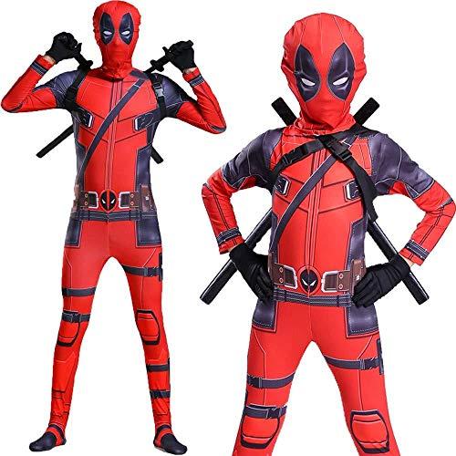 Kleidung Cos Strumpfhosen Spiderman Kleidung Dead Waiter Erwachsene Halloween Kinder Kostüm Cosplay Männlich,1 ()