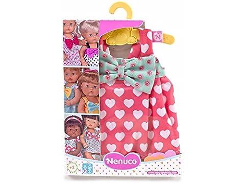 Famosa 700012824–Nenuco Tenues sur cintre dans le comptoir Écran ankleid Poupées de vêtements