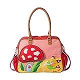 Room Seven BV Wickeltasche F157004 Mädchen Mädchenhandtasche 40x30x14 cm (B x H x T), Mehrfarbig (Red)