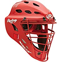 Rawlings adultos estilo de hockey para casco (CFA1), Escarlata