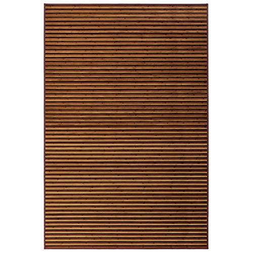Alfombra de salón árabe marrón de bambú para Comedor de 200 x 300 cm Arabia - LOLAhome