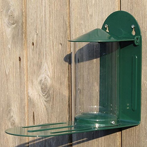 The C J Wildbird Foods Metal Squirrel Feeder is one of the best feeders to consider buying if you're looking for quality. This feeder can help you give squirrels their fair share of food to keep them from going to eat bird food and to help support your local squirrels.