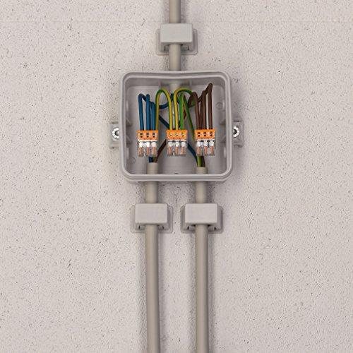 Wago 2273-203 Compact-Dosenklemme 3 x 0.5-2.5 qmm Nr.2273-203 100 Stück, orange - Bild 2