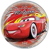 Disney Cars assiettes en papier à thème