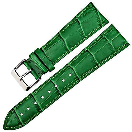 Henziy Smart Neue Uhr Zubehör Uhrenarmband Uhrenarmbänder Watch Band rot echtes Leder 12mm-24mm Uhrenarmband Uhrenarmbänder Watch Band Watch Band