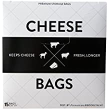 Formaticum Cheese Storage Bags, 15 Count by Formaticum