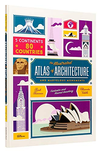 Atlas of Architecture and Marvellous Monuments por Alexandre Verhille