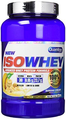 Quamtrax Nutrition QTX0299, Suplementos de Proteínas con Aroma de Banana, 907 gr