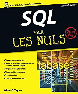 sql pour les nuls french edition ebook allen g taylor kindle store. Black Bedroom Furniture Sets. Home Design Ideas