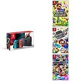 Pack Nintendo Switch Néon + New Super Mario Bros U Deluxe + Super Mario Party +...