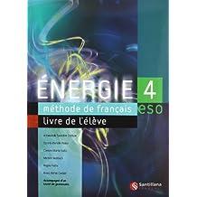 Energie, méthode de français, 4 ESO - 9788429435917