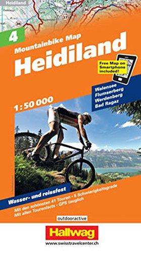 Heidiland Bike 2017 por Hallwag