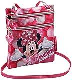 Minnie Mouse Bubblegum Sac bandoulière, 17 cm, Rose (Rosa)