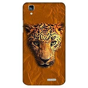 Bhishoom Designer Printed Back Case Cover for Oppo R7, Oppo R7 Lite (Tiger Rugged Pattern)