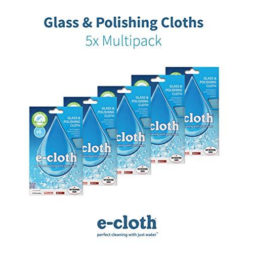 E-Cloth Glas- und Poliertuch, Multi, 40x50cm Multi-glas