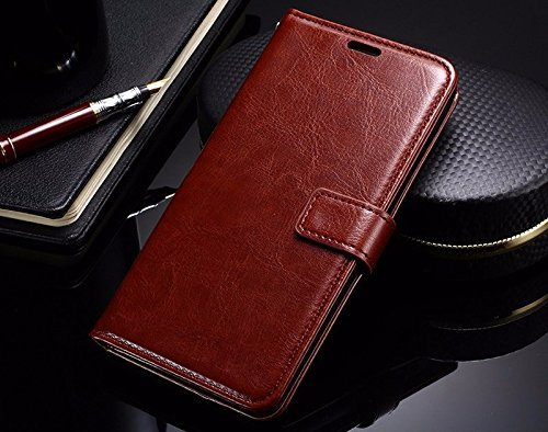 HOM Dadwal Wallet Flip Case Cover for Lenovo Phab 2...